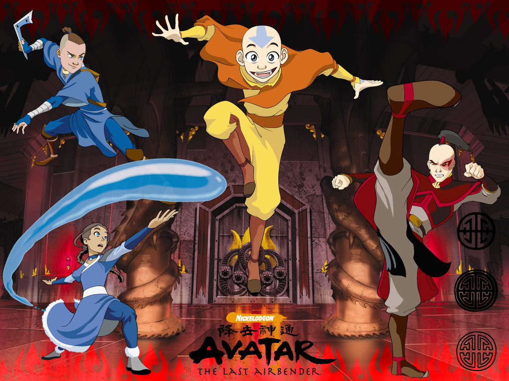 In the avatar series not the blue aliens with long tails avatar