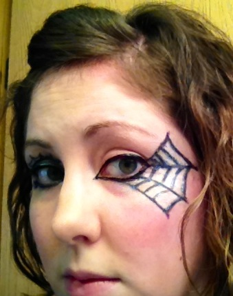Last Minute Halloween make-up ideas | Why Sew Nerdy