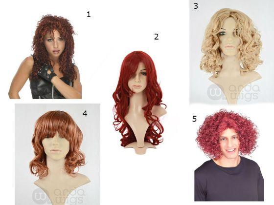 frizzle wig