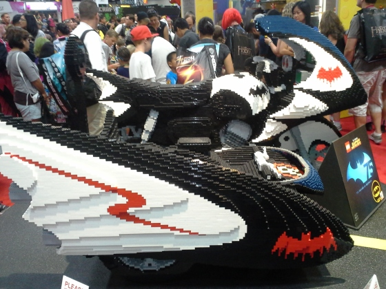 This is made completely out of LEGOS!